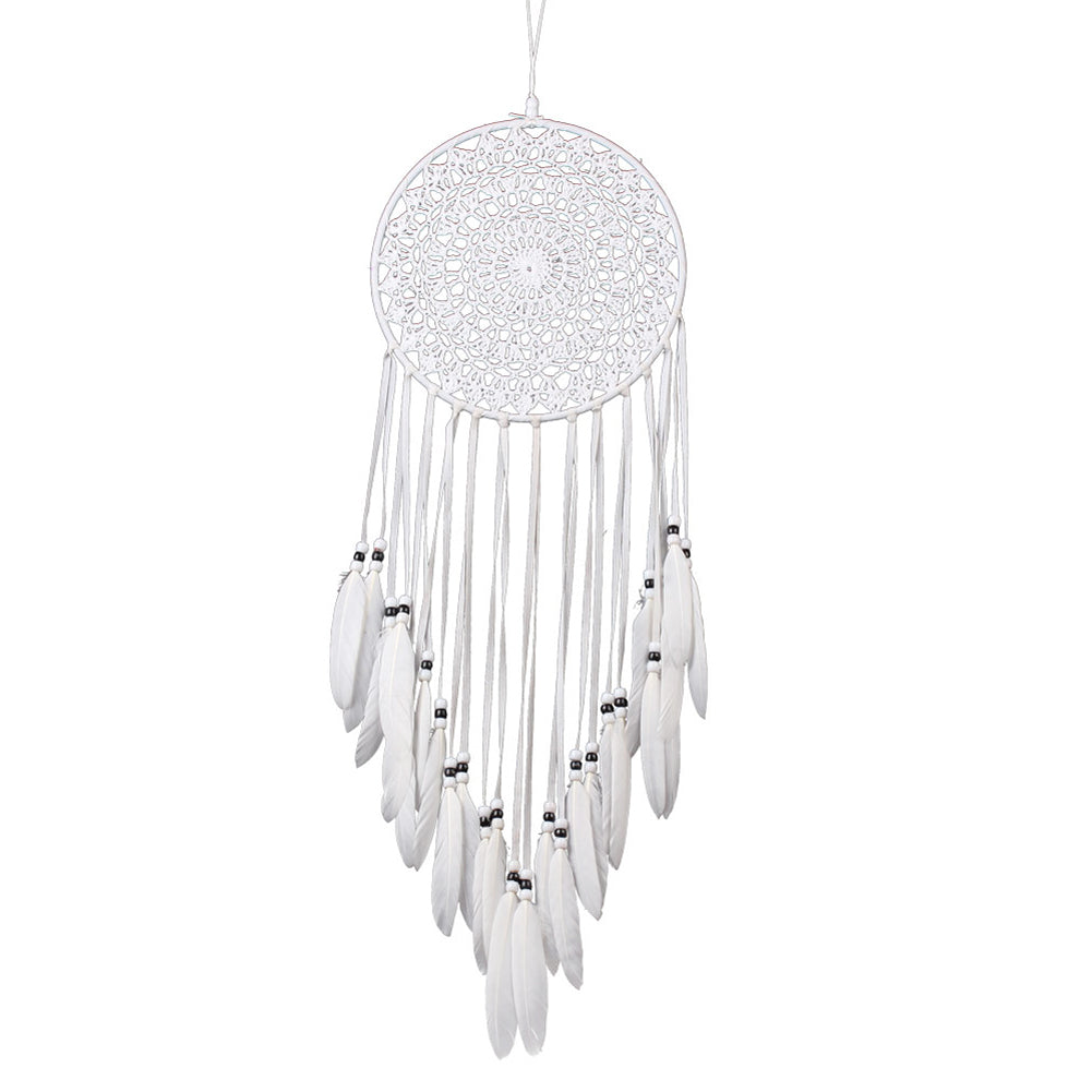 Craft White Dream Catcher