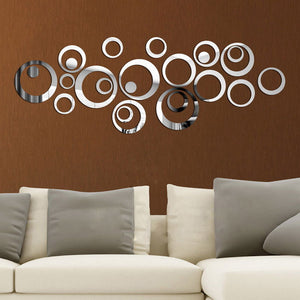 Contemporary Acrylic Mirror Wall Decal
