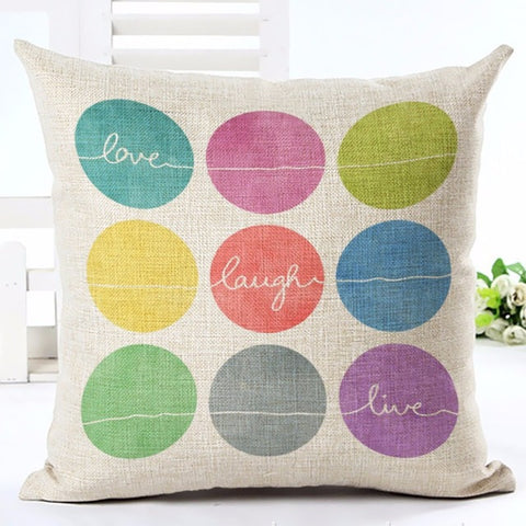 Modern Text Throw Pillow Cover [6 styles]