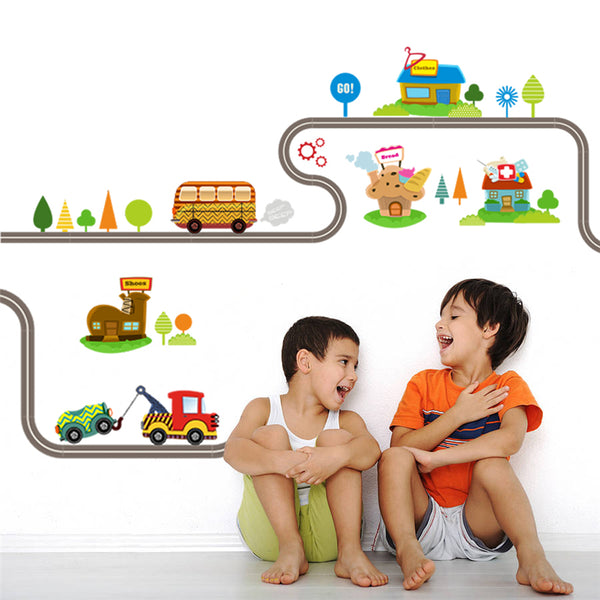 Kids' Room Cartoon Wall Sticker