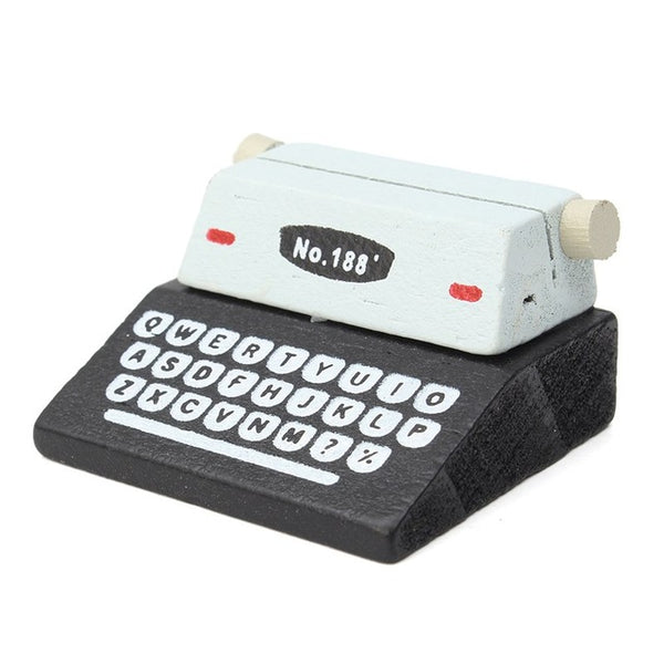 Mini Typewriter Note Clipper