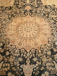 Kerman 9.9x13.5 [product_type} - LillieKat Rugs Vintage and Modern Rugs: Runners, Hides, Turkish, Oushak, Khotan, Anatolian and more Rugs