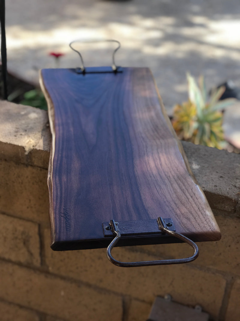 "Charcuterie board, cheeseboard,  grazing board, wedding gift,  24"" x 9"""
