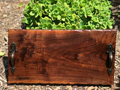 "Live edge Charcuterie board, cheeseboard, cheese platter, wedding gift, hostess gift 18"" x 9"""