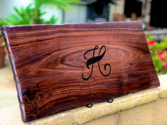 HAND ENGRAVING on any  charcuterie board, cheeseboard, wedding gift, housewarming gift, hand engraved