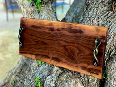 Live edge Charcuterie board /Cheese board/wedding gift 23
