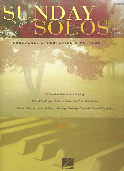 Sunday Solos for Piano Preludes, Offertories & Postludes