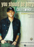 Cole Swindell You Should Be Here Sheet Music