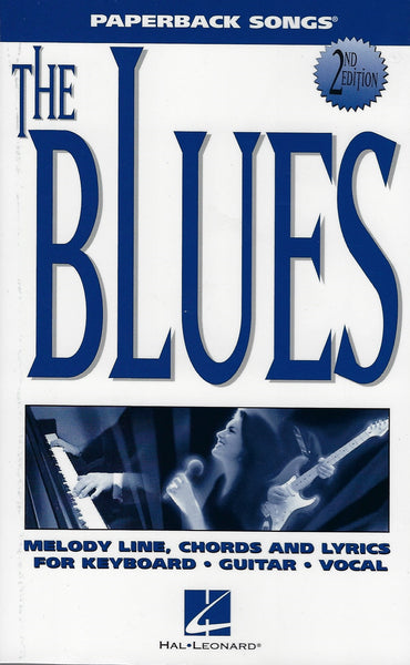 Paperback Songs The Blues 2nd Edition Melody/Lyrics/Chords