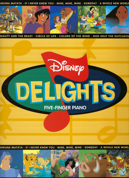 Disney Delights Five Finger Piano
