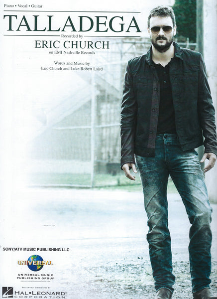 Eric Church Talladega Sheet Music