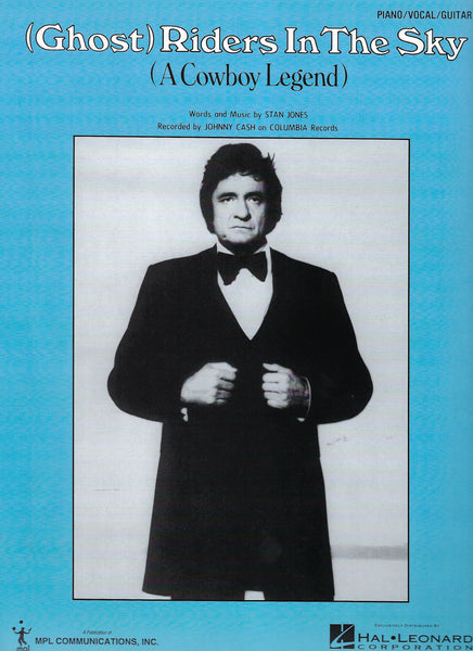 Johnny Cash GhostRiders in the Sky Sheet Music