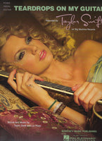 Taylor Swift Teardrops on My Guitar Sheet Music
