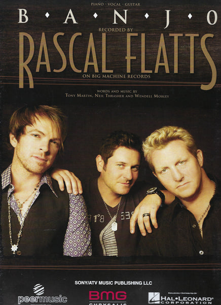Rascal Flatts Banjo Sheet Music