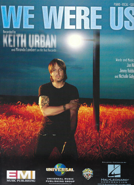 Keith Urban, Miranda Lambert We Were Us Sheet Music