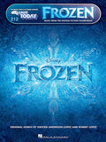 Frozen Music Motion Picture Soundtrack E-Z Play Today Volume 212