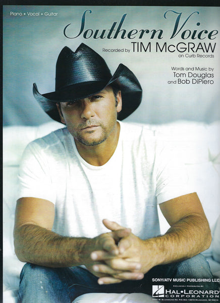 Tim McGraw Southern Voice Sheet Music
