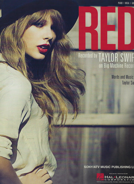 Taylow Swift Red Sheet Music