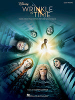 A Wrinkle in Time Music from the Motion Picture Soundtrack Easy Piano