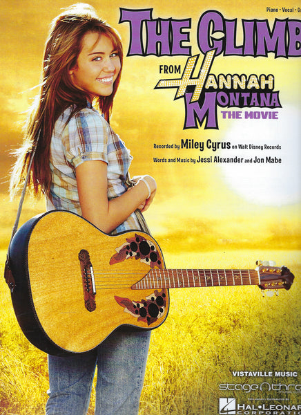 The Climb from Hannah Montana The Movie Sheet Music Piano Vocal Guitar