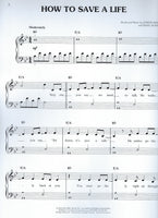The Fray How To Save A Life Easy Piano Sheet With Audio Download Sticker