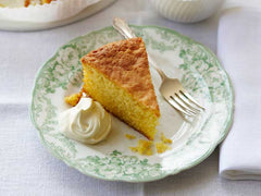 Recipe :  Lemon Polenta Cake !