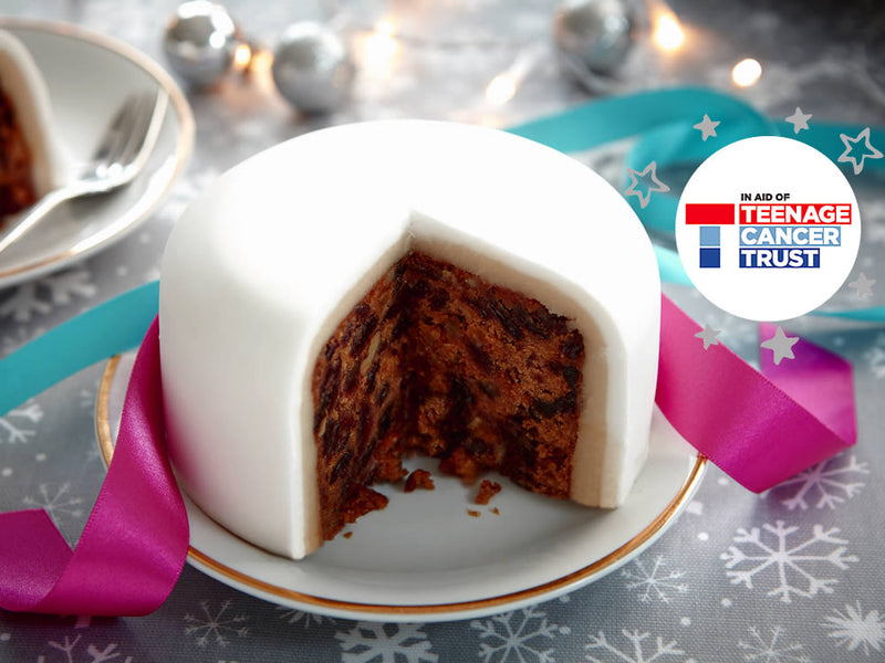 Teenage Cancer Trust Christmas Cake
