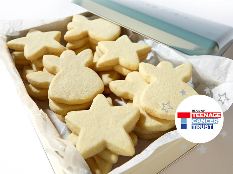 Teenage Cancer Trust Christmas Classic Shortbread - in a tin