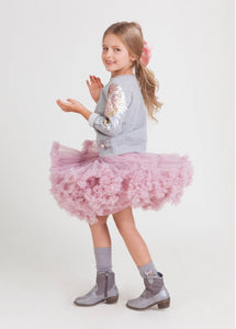 Angel's Face - Charming Trinity Tutu gonna bambina Vintage Pink
