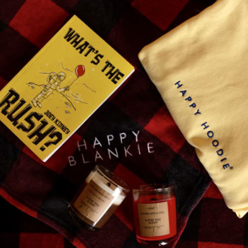 Happy Box (Happy Hoodie, Happy Blankie, Candle and Book)