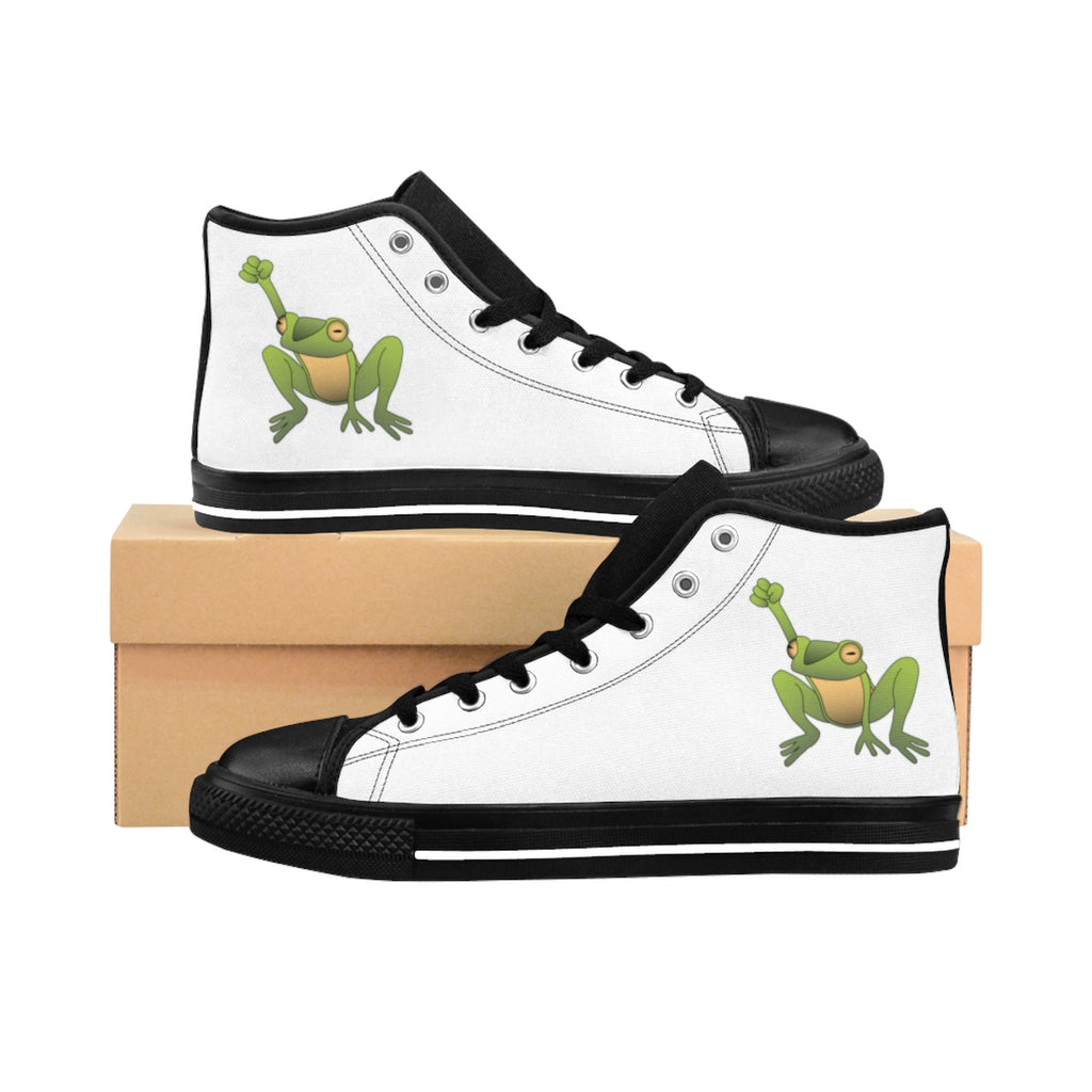Men's Justice for Frogs High-top Sneakers