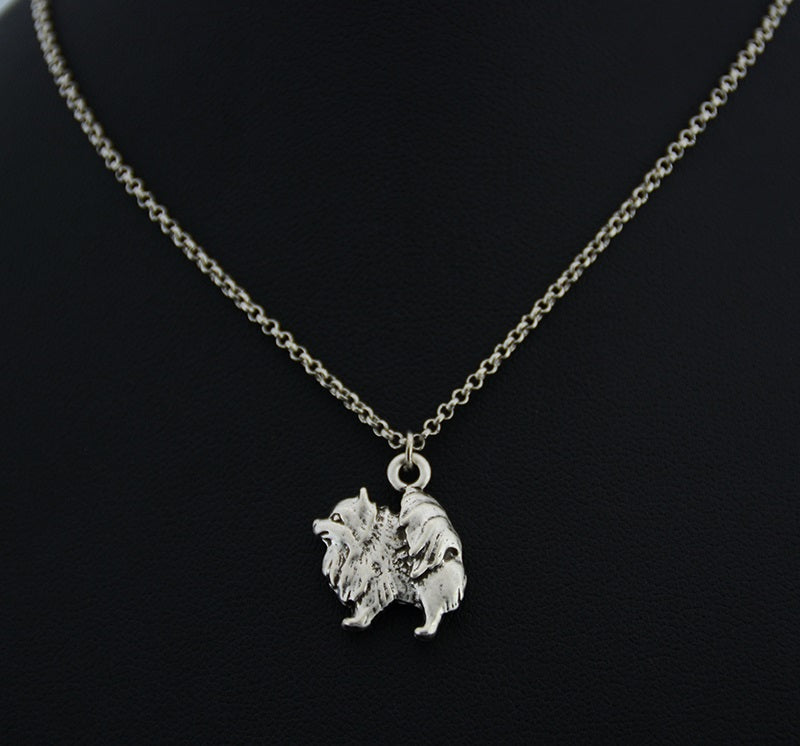3D Pomeranian Necklace