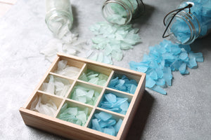 Sea Glass Bento Box - Aqua Ombre
