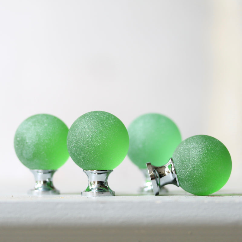 Sea Glass Orb Drawer Knob - 30mm