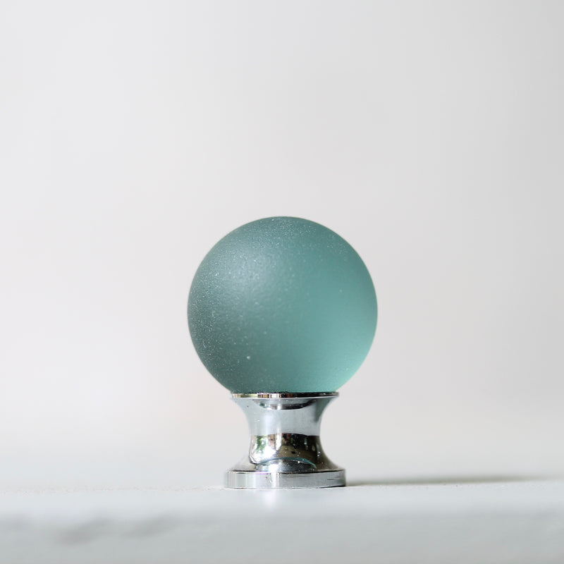 Sea Glass Orb Drawer Knob - 25mm