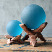 Blue Seaglass Ball