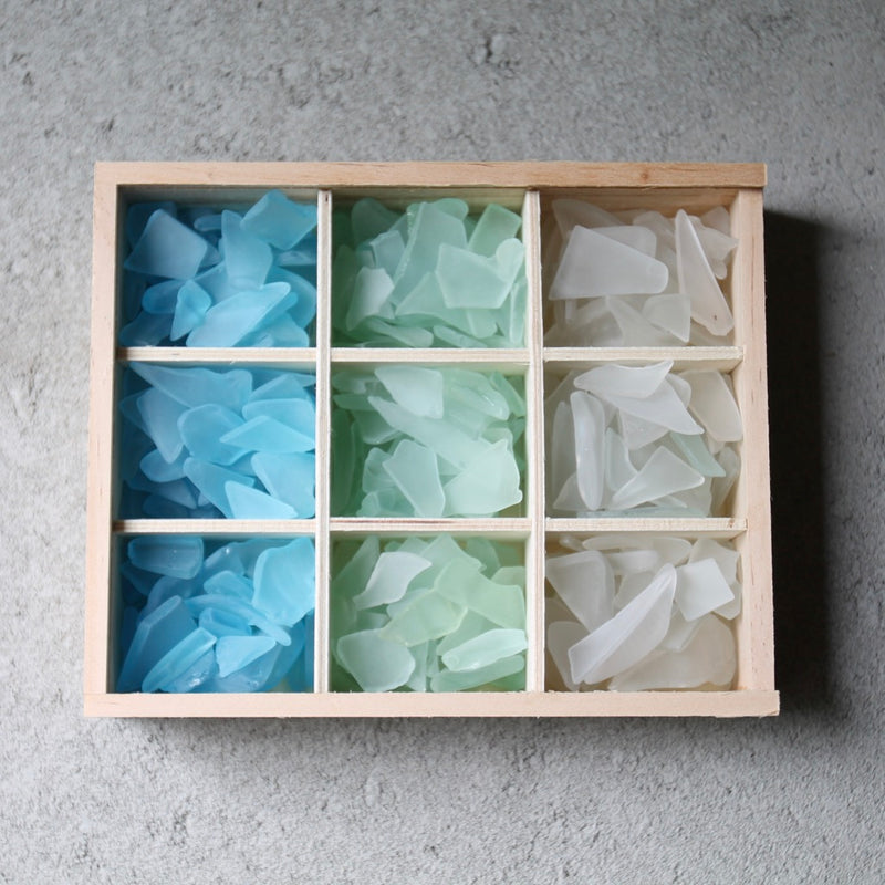 Sea Glass Bento Box - Green Ombre
