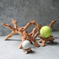 Driftwood Display Stands - Hand-carved Wooden Stands