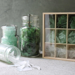 Sea Glass Bento Box, DIY Sea Glass Crafts, Sea glass display