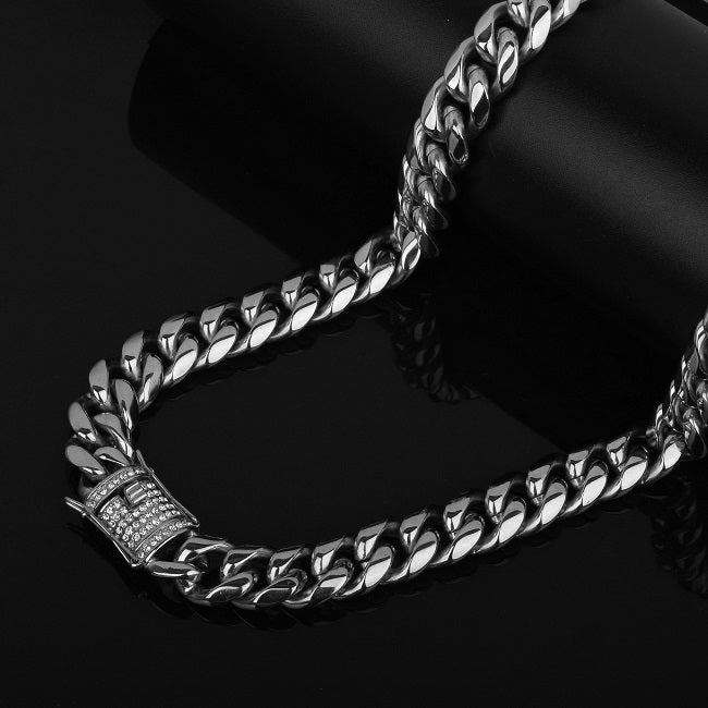 14mm Miami Cuban Link Necklace in 24k Gold  4ed129b78c7c