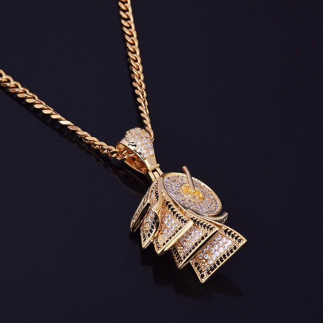 Money roll pendant in 24k gold the gold link money roll pendant in 24k gold the gold link jewelry supplier aloadofball Image collections