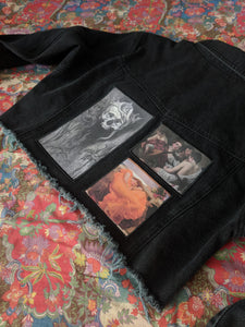 Art Patch Denim Jacket