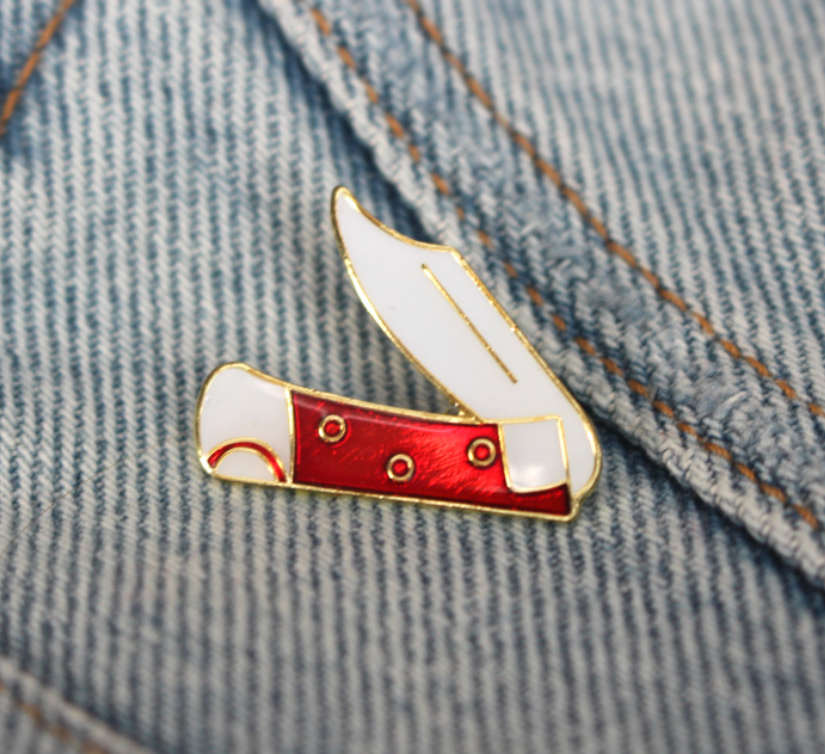 Vintage Switchblade Pin