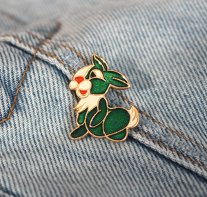 Vintage Rabbit Pin