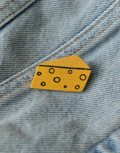 Vintage Cheese Pin
