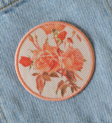 Peach Rose Patch