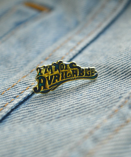 Vintage Not Available Pin