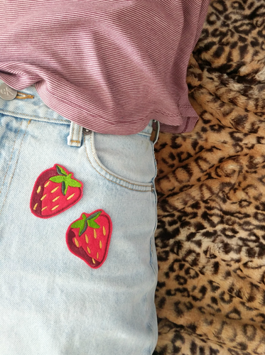 Strawberry Patch Pair