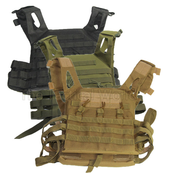 Hunting Tactical Body Armor JPC Plate Carrier Vest Mag. Chest Rig