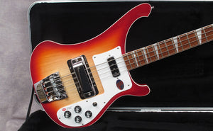 New Rickenbacker 4003 and 4003S at Andy Baxter Bass